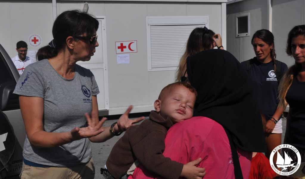 refugee baby