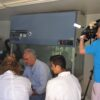 The TV crew of British ITV visit the research base of the Archipelagos Institute